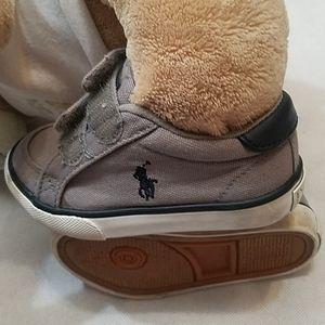 Polo Ralph Lauren Kids Shoes Size 6 Gray/Blue